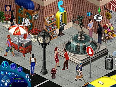 Sedia A Sdraio The Sims.The Sims Hot Date Recensione Pc 38723