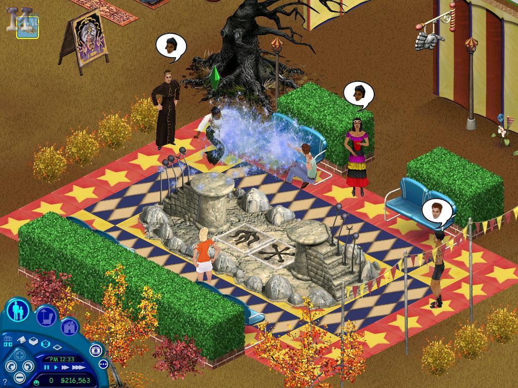 the sims magie incantesimo