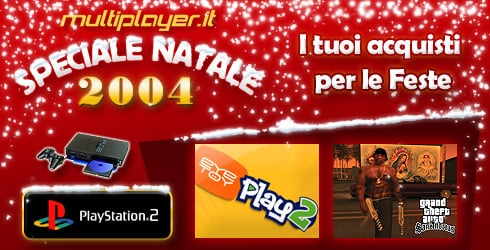 Speciale di Natale 2004 - PlayStation 2