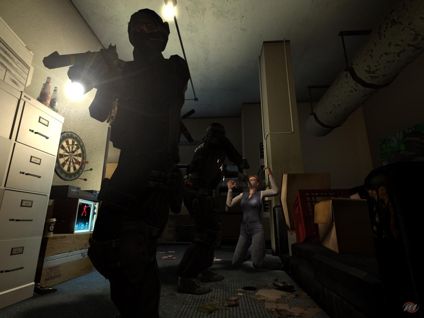 how to play multiplayer in swat 4