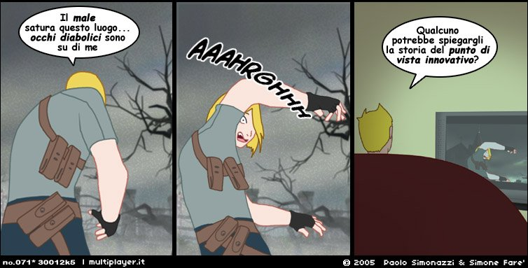 FTR ha l'angoscia per Resident Evil 4