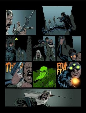 Il fumetto di Sam Fisher