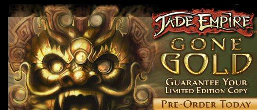 Jade Empire è andato in produzione!