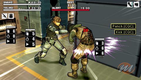 La soluzione completa di Metal Gear Acid 2