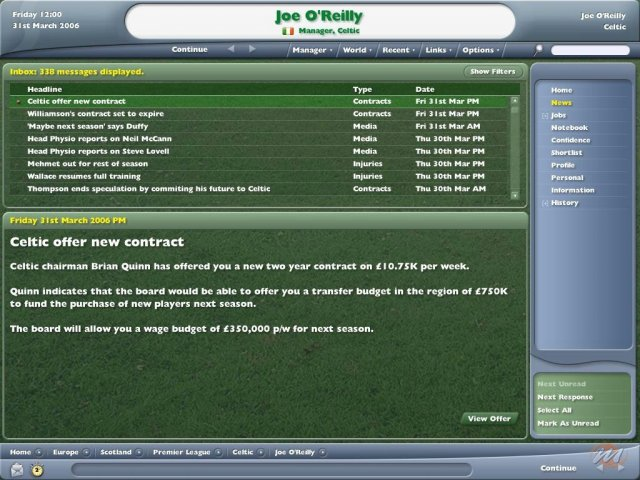 Football Manager Campionato 2006 (LMA Manager 2006)