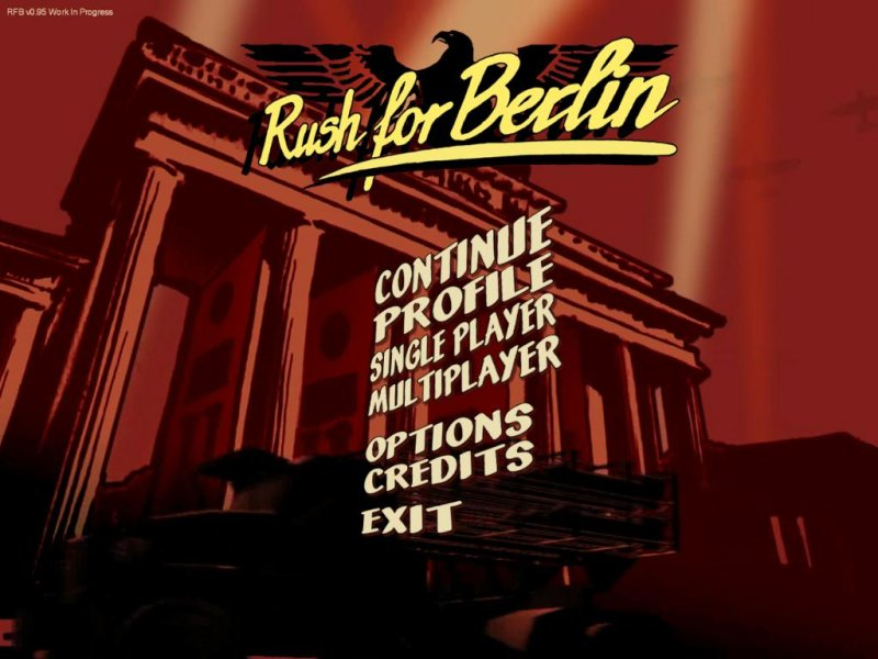 Rush for Berlin - Hands On