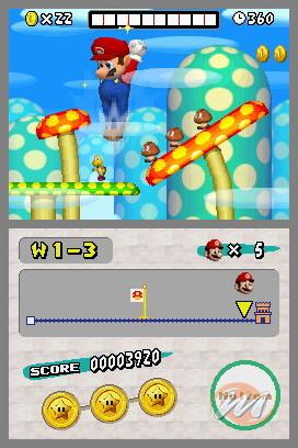 La soluzione completa di New Super Mario Bros