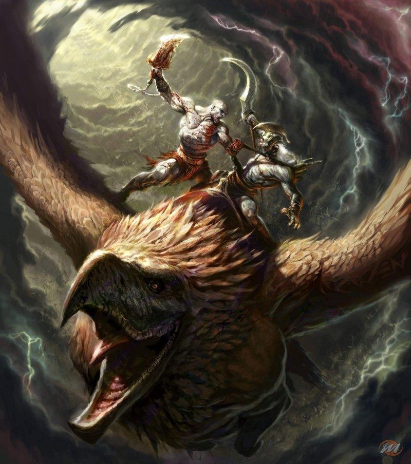God of War raccontato attraverso i concept art