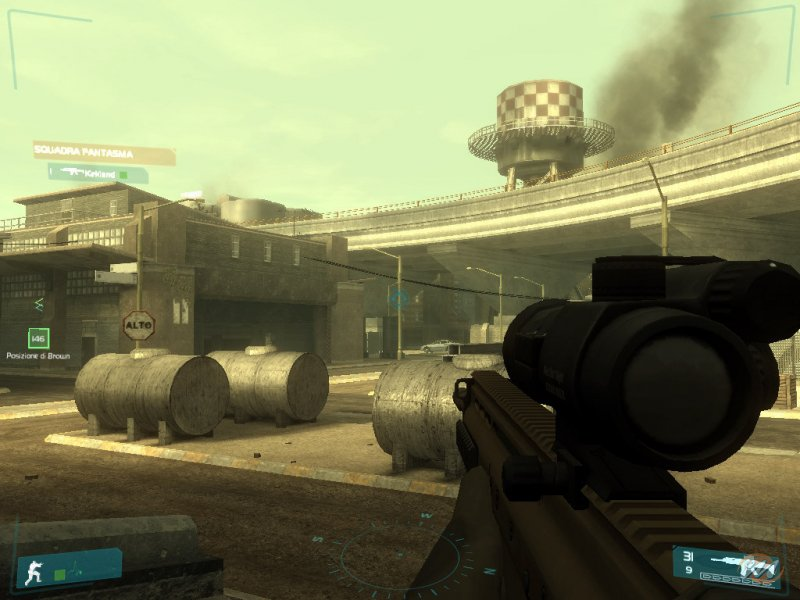 La soluzione completa di Tom Clancy's Ghost Recon: Advanced Warfighter