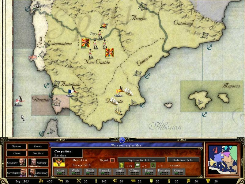 Crown of Glory: Europe in the Age of Napoleon - Recensione