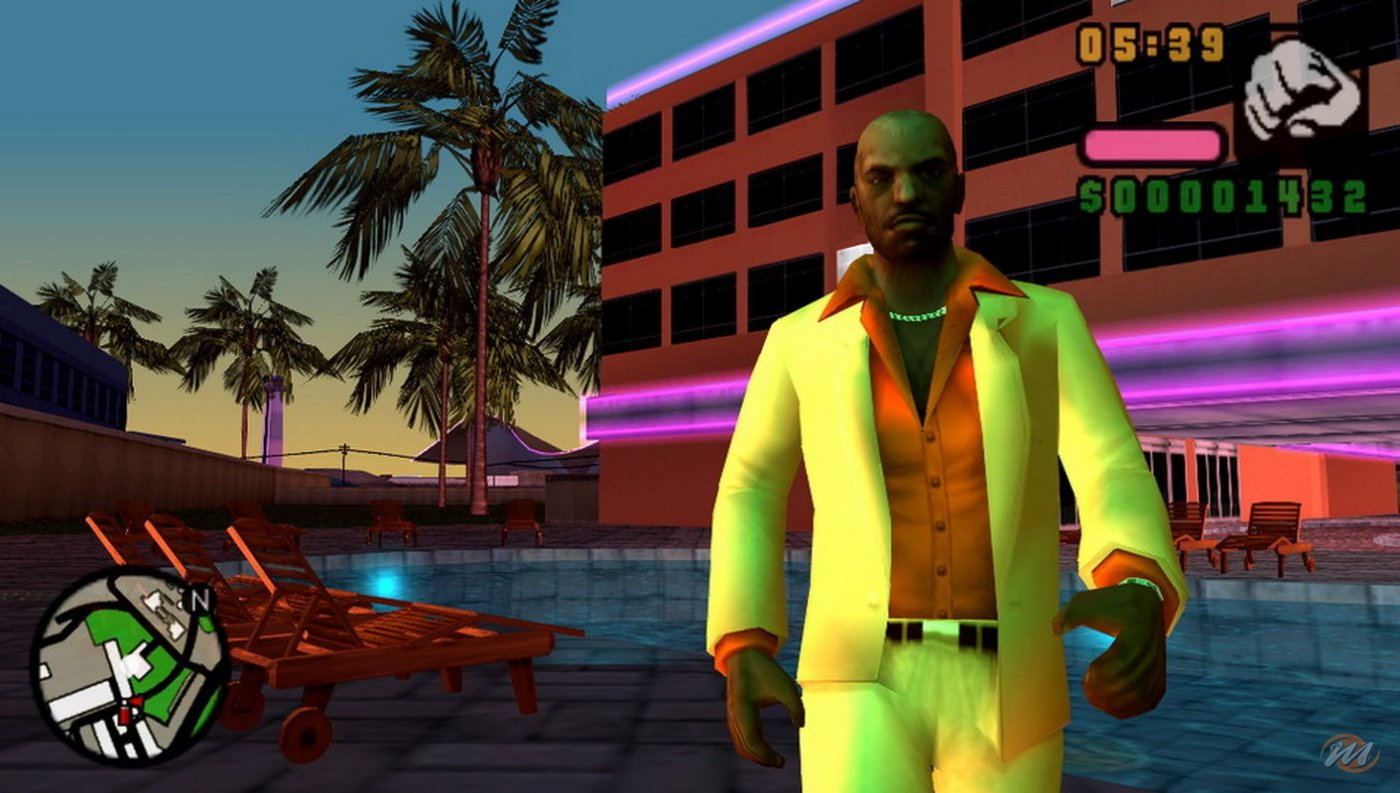 Grand theft auto vice City Stories psp cso