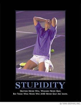 Rule of stupidity