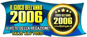 Il Gioco Dell'Anno 2006 - Il Voto Della Redazione: Dal 20° Al 6° Posto