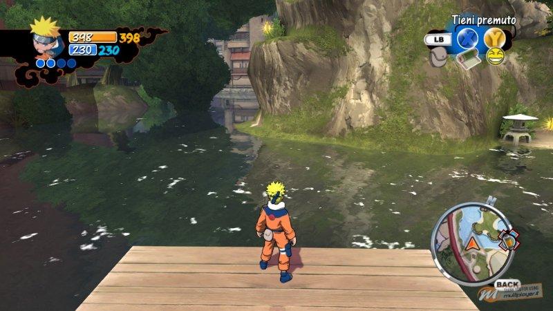 La soluzione di Naruto: Rise of a Ninja