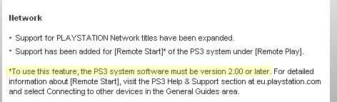 L'update di PSP conferma il 2.0 di PS3