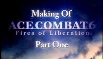 Ace Combat 6 filmato #12 Making of pt.1