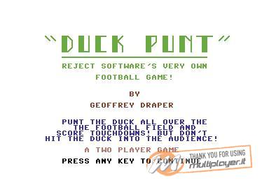 Duck Punt