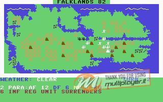 "Falklands 82 - ""The Empire Strikes Back"""
