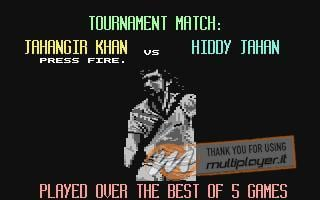 Jahangir Khan's World Championship Squash