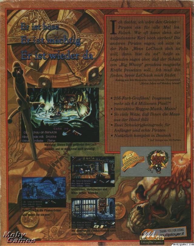 La Soluzione Completa di Monkey Island 2: LeChuck's Revenge