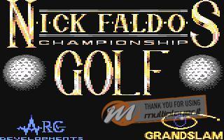 Nick Faldo's Championship Golf