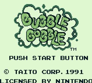 Bubble Bobble