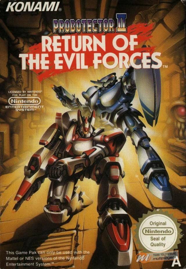 Probotector II: Return of the Evil Forces