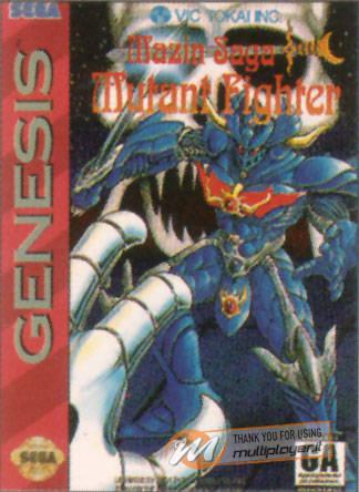 Mazin Saga Mutant Fighter