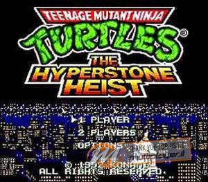 Teenage Mutant Ninja Turtles: The Hyperstone Heist