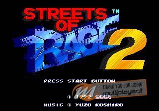 Streets of Rage 2 disponibile sull'App Store