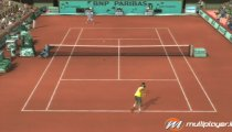 Top Spin 3 filmato #2 Nadal VS Federer Terra Battuta