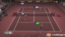 Top Spin 3 filmato #5 Sharapova VS Henin