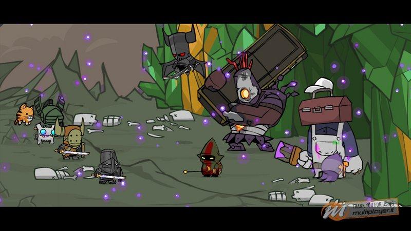 Un milione di utenti per Castle Crashers