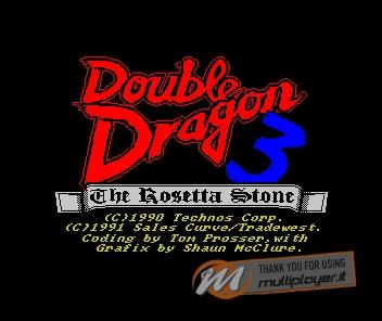 Double Dragon III: The Rosetta Stone