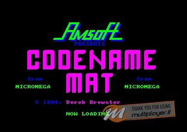Codename: MAT