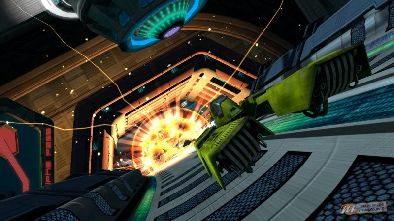 Wipeout HD Fury corre in video