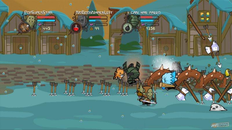 Castle Crashers arriva su PS3