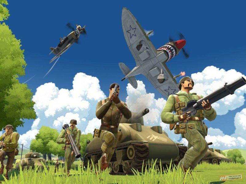 Battlefield Heroes ufficialmente aperto