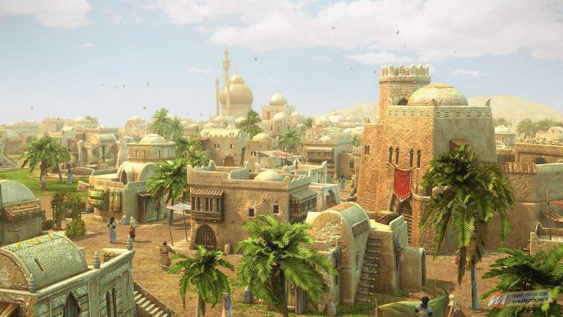 Le meraviglie dell'oriente in un video di Anno 1404