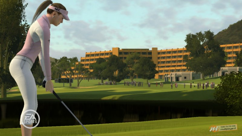 Torna la tigre dei campi da golf