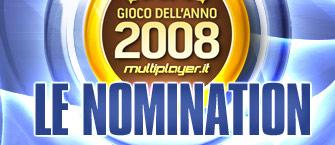 Il Gioco dell'Anno 2008 - Le Nomination