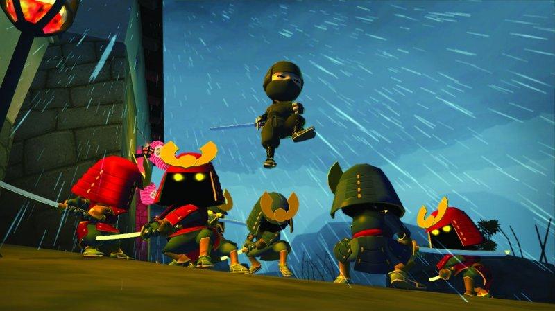 Piccoli ninja alla riscossa