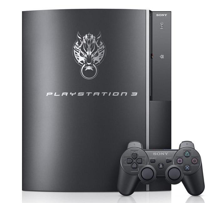 Una PS3 dedicata a FFVII arriva in Giappone