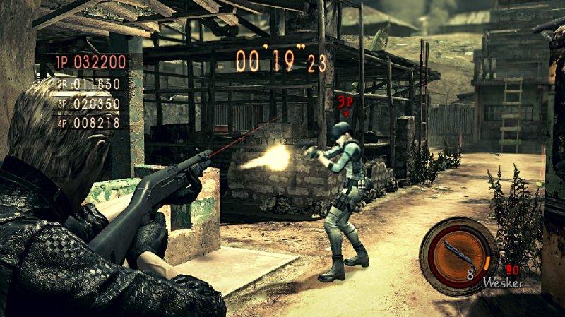 L'Alternative Edition di Resident Evil 5 anche su X360?