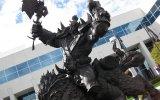 Una statua di 3 metri per World of Warcraft