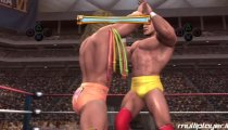 WWE Legends of WrestleMania - Hulk Hogan vs Ultimate Warrior Gameplay