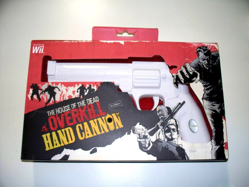 SEGA - Nintendo Wii The House of the Dead: Overkill - Hand Cannon