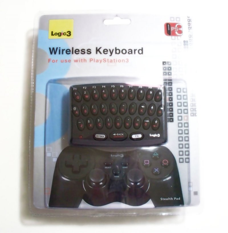 Logic3 - PlayStation 3 Wireless Keyboard