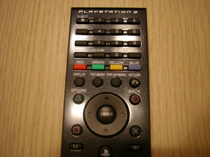 Sony - PlayStation 3 Blu-Ray Remote Controler