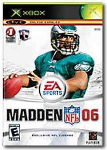Madden NFL 06 per Xbox